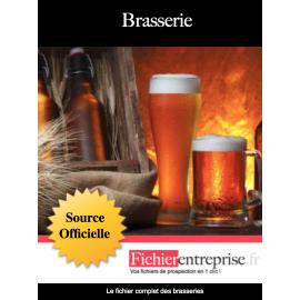 Fichier email des brasseries