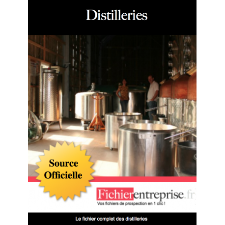 Fichier des distilleries