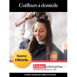 Fichier des coiffeurs à domicile