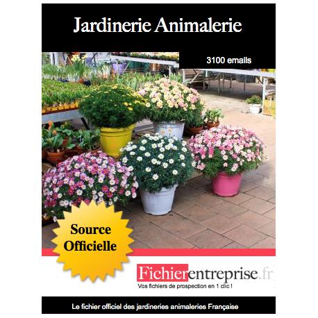 Fichier des jardineries animaleries