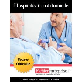 Fichier hospitalisation à domicile