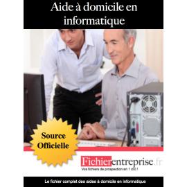 Fichier aide à domicile en informatique