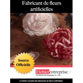 Fichier fabricants de fleurs artificielles
