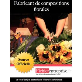 Fichier fabricants de compositions florales