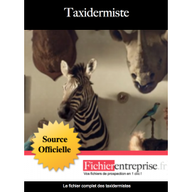 Fichier des taxidermistes