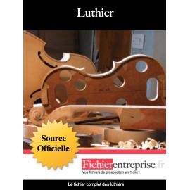 Fichier des luthiers