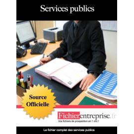 Fichier des services publics