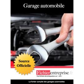 Fichier des garages automobiles