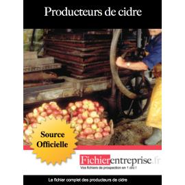 Fichier producteur de cidre