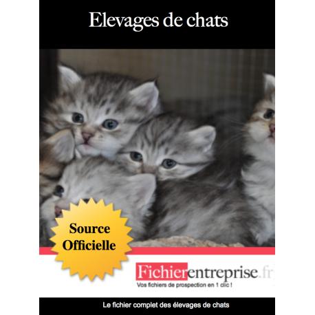 Fichier des élevages de chats