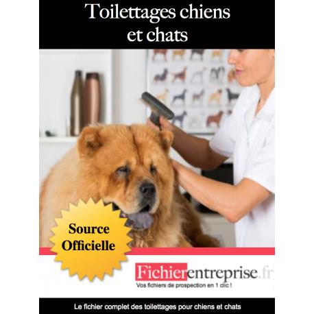 Fichier des toiletteurs pour animaux