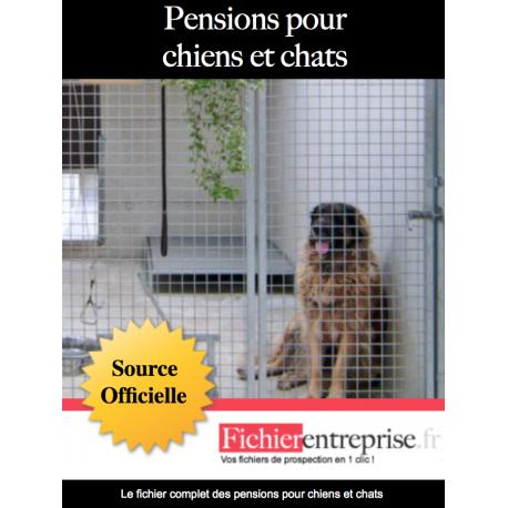 Fichier des pensions pour chiens et chats