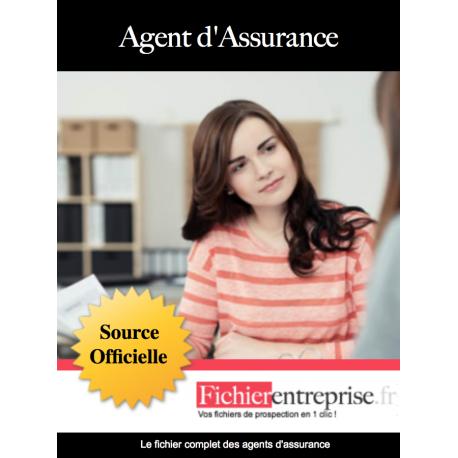 Fichier email des agents d'assurances