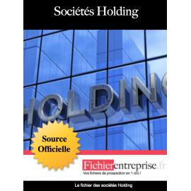 Base email des sociétés holding