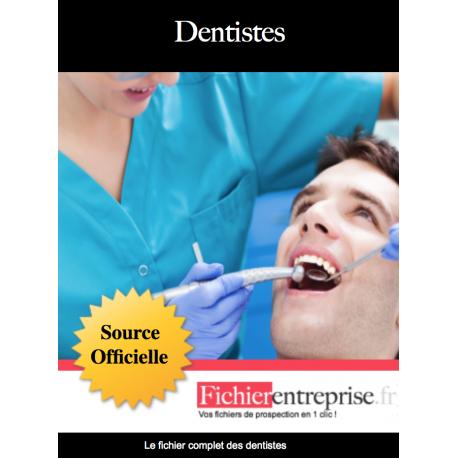 Fichier mailing des dentistes