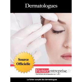 Fichier prospect des dermatologues
