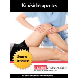 Fichier email des kinésithérapeutes