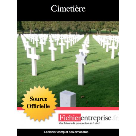 Fichier email des cimetières