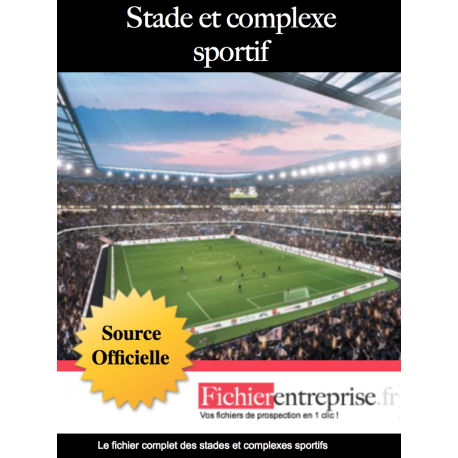 Base email stades et complexes sportifs
