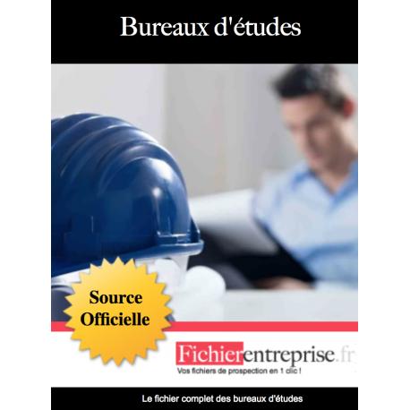 Fichier email des Bureaux d'études
