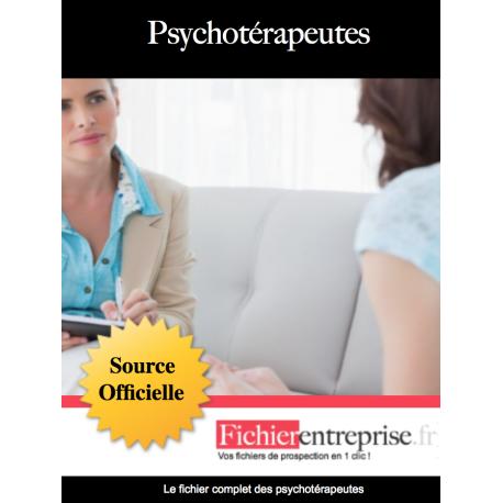 Fichier email des psychothérapeutes