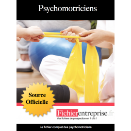 Fichier email des psychomotriciens