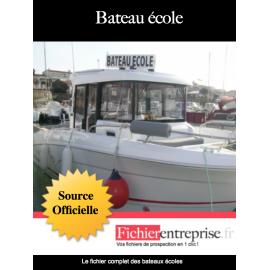 Fichier email des bateaux écoles