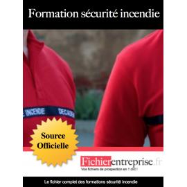 Fichier email formation sécurité incendie