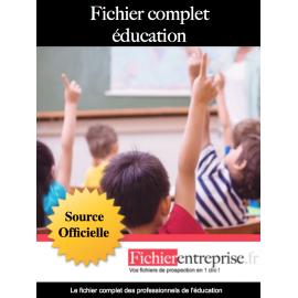Fichier complet éducation