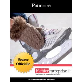 Fichier email des patinoires