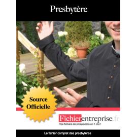 Fichier email des presbytères