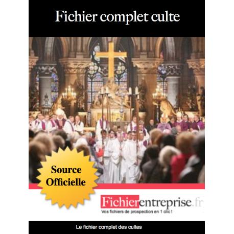 Fichier complet des cultes