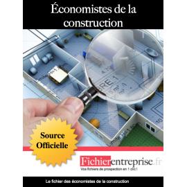 Fichier des économistes de la construction