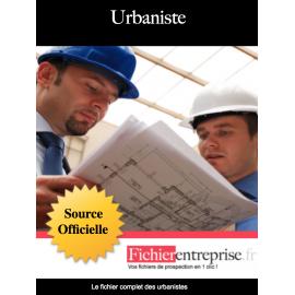 Fichier des urbanistes