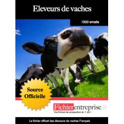Fichier des éleveurs de vaches laitières