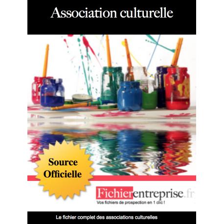 Fichier des associations culturelles
