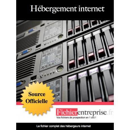 Fichier des hébergeurs internet