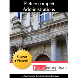 Fichier complet administrations