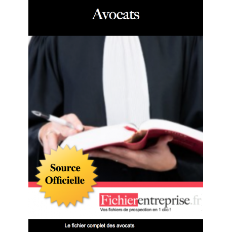 Fichier des avocats