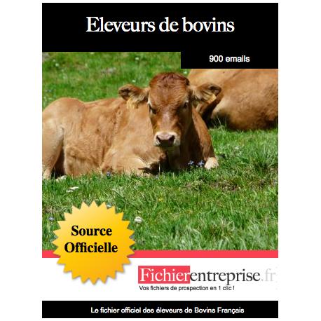Fichier des éleveurs de bovins