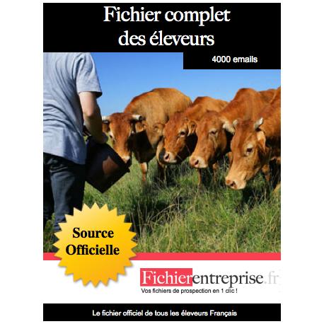 Fichier complet des éleveurs