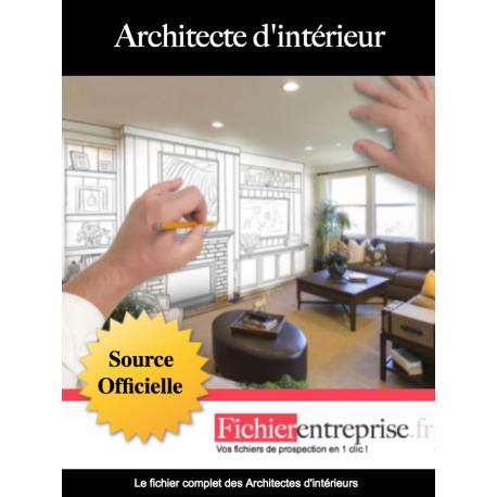 Fichier des architectes d'intérieur