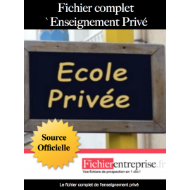 Fichier complet enseignement privé