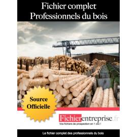 Fichier complet professionnel du bois