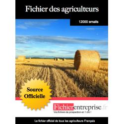 Fichier email des agriculteurs