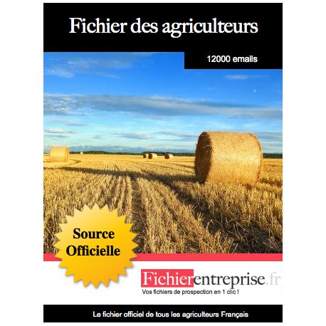 Fichier des agriculteurs